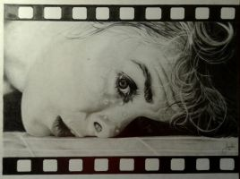 Janet Leigh from Hitchcock's Psycho by AngelDiabolo