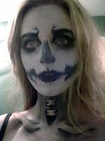 Me. As a skull... by EloiseS16