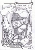 FREE Snake Eyes sketch by Carl-Riley-Art