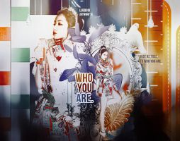 Who you are. by luewee