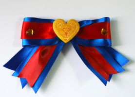Sailor V Hair Bow by sakkysa