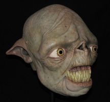 Orc Mask by AfterlightRob