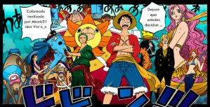 One Piece 633 Mugiwaras 10 by Akaris31