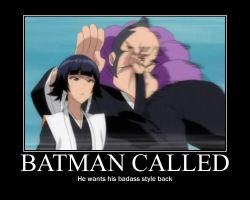 Soi Fon is the Dark Knight by ProfessM