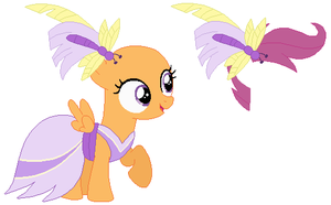 Gala Scootaloo Base by SelenaEde