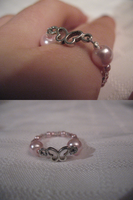 Pink Butterfly Ring by sampdesigns