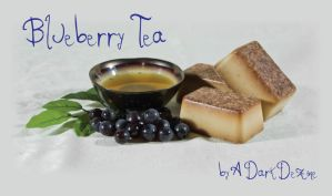 blue berry tea soap by ADarkDezine