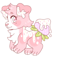 cute dessert dog auction {open!} by goatr