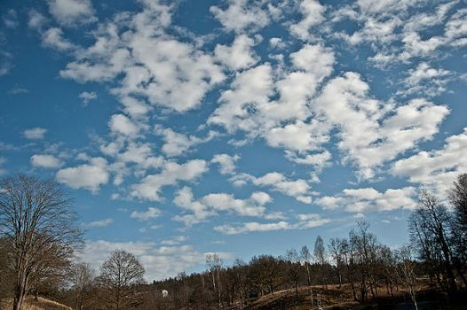 clouds filling the sky by HateCrewGirl