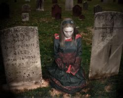 Amber in the Graveyard by Deanw1968