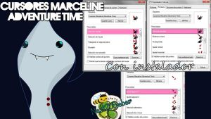 Cursores Marceline (Adventure Time) by Cursorsandmore