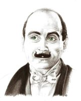 Monsieur Poirot by CeskaSoda