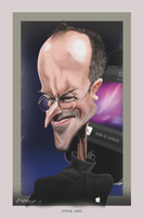 STEVE JOBS by LuisArriola