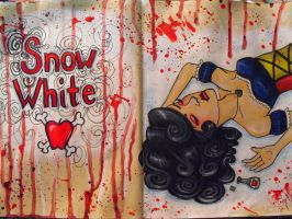 Snow White by vampireheartagram27