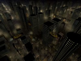 City By Night by danmoore