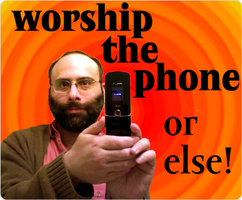 worship the phone by chemoelectric