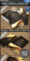 Phoenix business card by Lemongraphic