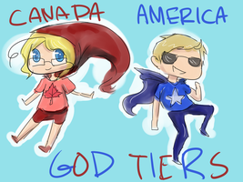 GOD TIER NORTH AMERICA by Brixyfire