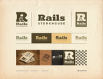Rails Steakhouse Logotype by Osokin