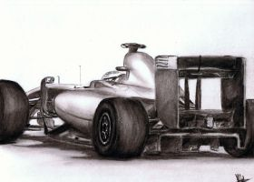 formula one sketch by rayjaurigue