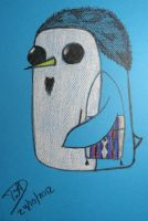 Me on penguin style Gunter like Adventure Time by Onnessa