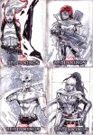 marvel beginnings3 sketch cards 3 by CRISTIAN-SANTOS