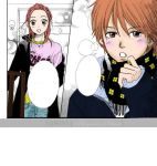 Lovely Complex Manga color by yumi95