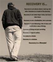 Recovery Is.... by rd2recovery