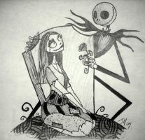 Jack and Sally by Sir-Jeffy