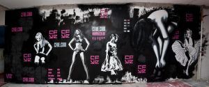 Collab wall by fakestencils