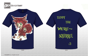 Teddy The Were Squirrel by RSforsevers