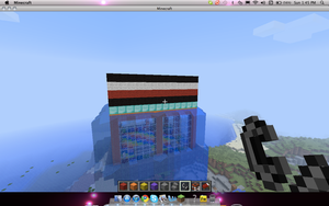 My minecraft house by MonsterNiccals