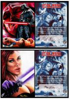 Star Wars Sketch Cards Ebay by Twynsunz