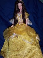 Doll stock: Belle by pandora1921