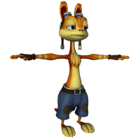 Pain - Daxter by o0DemonBoy0o