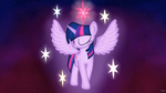 Twilight Sparkle - Princess of the Stars by StarOrca