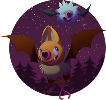 I heart bats by Frozenspots