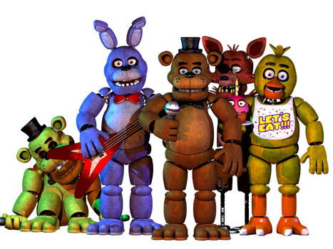 Pack fnaf 1 2.0 by nathanzica download by NathanzicaOficial