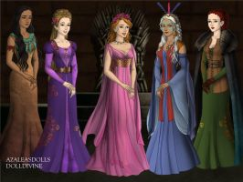 More Disney Princesses by kylienh