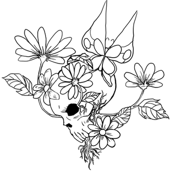 Pushing up Daisies: Tattoo design by Belclairade