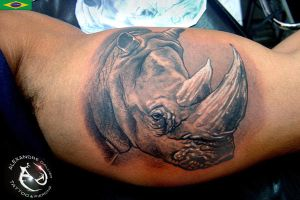 Rino by DallierTattoo