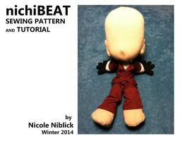 nichiBEAT Sewing Pattern and Tutorial by plushabilities