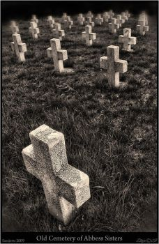 Old cemetery of Abbess Sisters by Zlajs