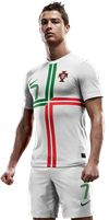 Portugal Away Cristiano Ronaldo by Ashish-Kumar