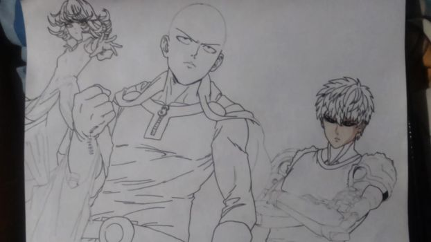 One-Punch Man (WIP)) by lucasnava