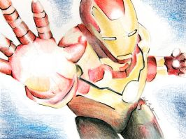 Iron Man by beePear