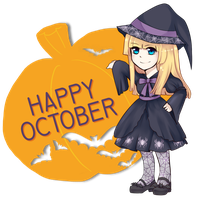 Happy October by IceValaxy