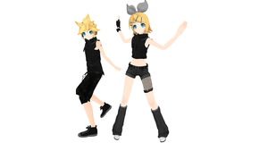 PD Urban Kagamine DL by XDONOTENTERX