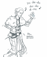 anders' spicy shimmy by kamidoodles