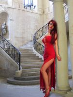 Lady in Red VI by BiggieShorty